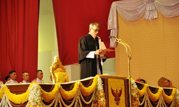 บัณฑิตมธ.ซาบซึ้งพระมหากรุณาธิคุณ พระบรมฯ พระราชทานพระราโชวาทในพิธีพระราชทานปริญญาบัตร