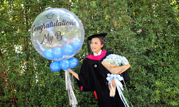 ชิต เบนาชิต มิสทีนไทยแลนด์ เดินหน้าเรียนต่อปริญญาโท ขอสานฝันต่อไป