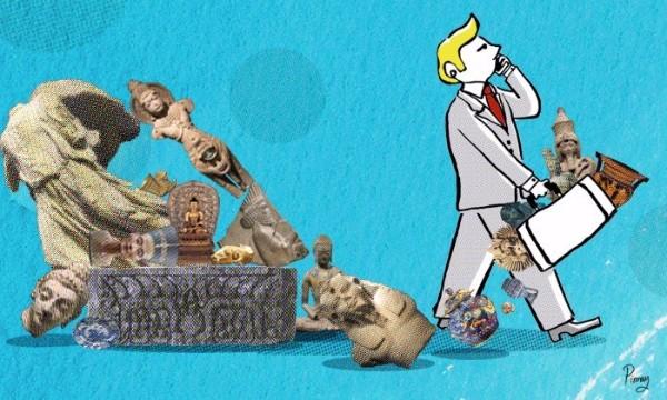 ทำไมวัตถุโบราณของหลายๆ ประเทศจึงไปอยู่ในพิพิธภัณฑ์ตะวันตกเยอะ?