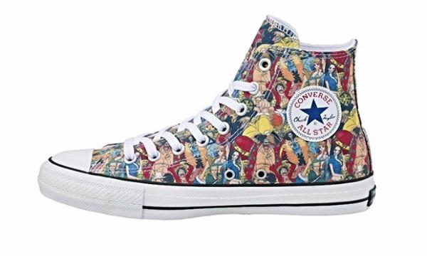 ฉลองครบรอบ 100 ปี Converse ออกรองเท้าลาย One Piece เอาใจสาวกสุดๆ