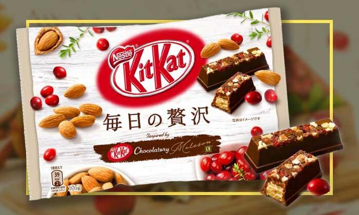 """รีวิว Kit Kat แครนเบอรี่และอัลมอนด์ ขนมที่มีคนบอกว่า """"รสชาติผู้ดีชัดๆ"""""""