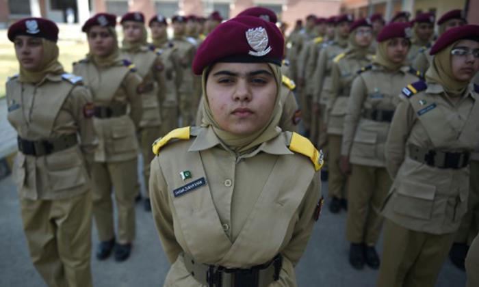 นักเรียน นายร้อยหญิงปากีสถาน ฝันเป็นผู้บัญชาการกองทัพ