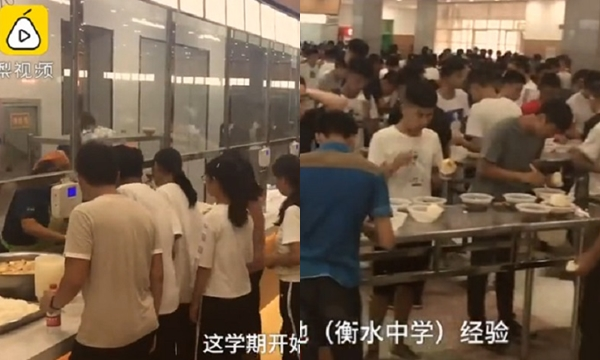 เพื่ออะไร? โรงเรียนเอาเก้าอี้ออกจากโรงอาหาร ให้เด็กยืนกินเพราะอยากให้ตั้งใจเรียน