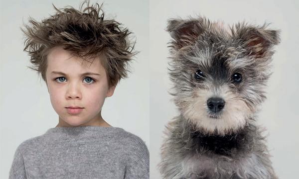 """""""ภาพถ่ายเปรียบเทียบน้องหมากับเจ้าของ"""" จริงไหมเขาบอก สัตว์เลี้ยงมักจะเหมือนเจ้าของ"""