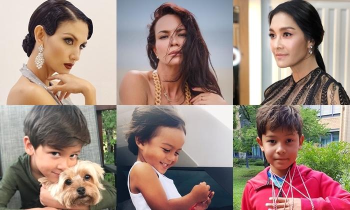 ส่อง 3 ลูกชาย ซูเปอร์โมเดลตัวแม่ของไทย สกาย เอเดน ภฌา หล่องานดีทุกคน