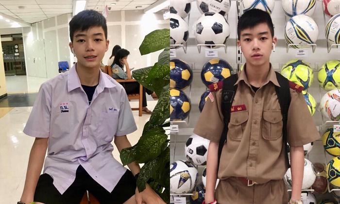 """""""นิคกี้ ชอง"""" ส่องหนุ่มลูกครึ่งไทย-สิงคโปร์ จาก โรงเรียนกุนนทีรุทธารามวิทยาคม"""