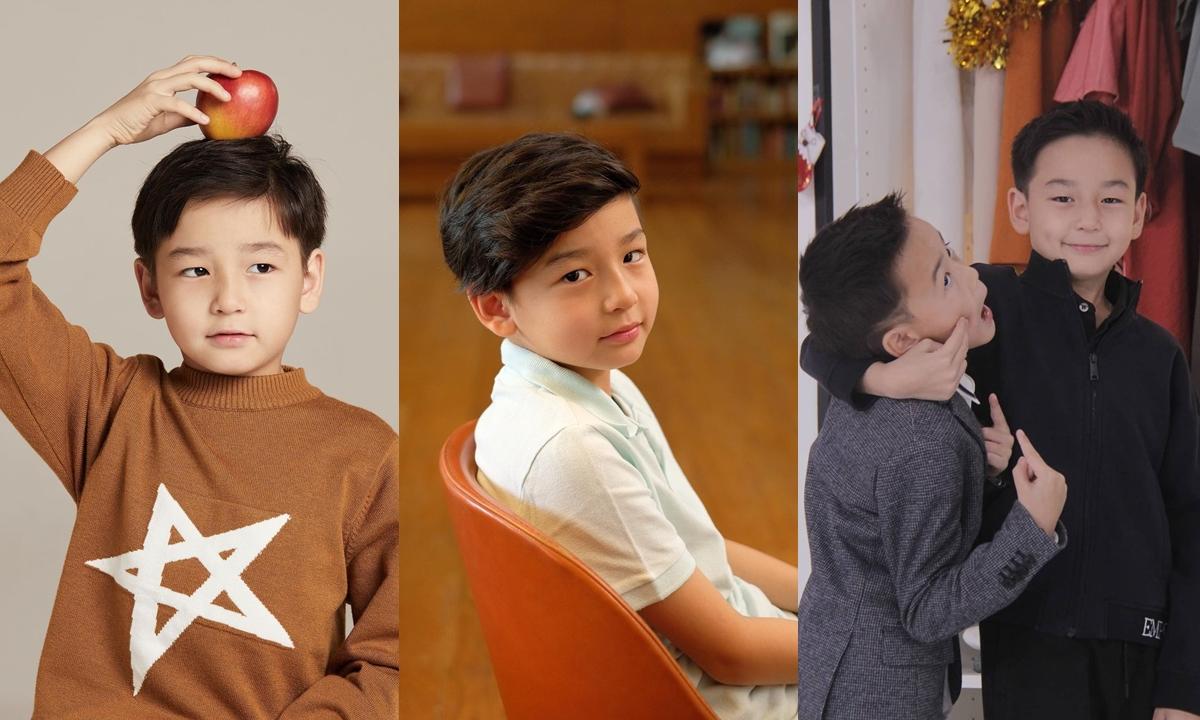 """ส่องความหล่อ """"น้องชิโน่"""" ลูกชายคนโต """"พลอย ชิดจันทร์"""" บอกเลยว่า มินิกงยู"""
