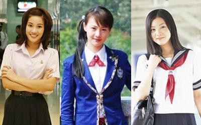 แฟชั่นชุดนักเรียนหญิง ของแต่ละประเทศ