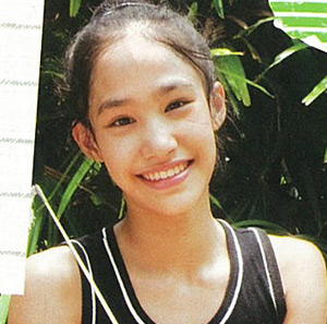 ปันปัน - เต็มฟ้า นักกีฬายิมนาสติกเยาวชนทีมชาติไทย