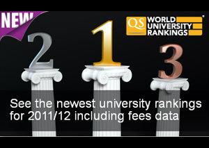 จุฬาฯ-มหิดลติด 300 อันดับมหาวิทยาลัยโลกปี 2011/2012