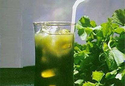 ใบบัวบกพัฒนาเป็นชาเพื่อสุขภาพ