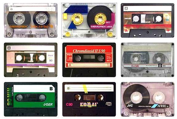 เปลี่ยน cassette tapes ให้กลายเป็นของใช้ใหม่