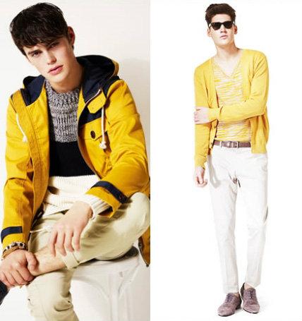 เลือกใส่เสื้อผ้าสีเหลืองให้เข้ากับตัวเอง