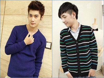 แฟชั่นเสื้อคลุมกันหนาวสไตล์เกาหลี