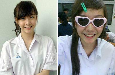 5 อันดับ นางเอกสวยใสในชุดนักเรียน 2013