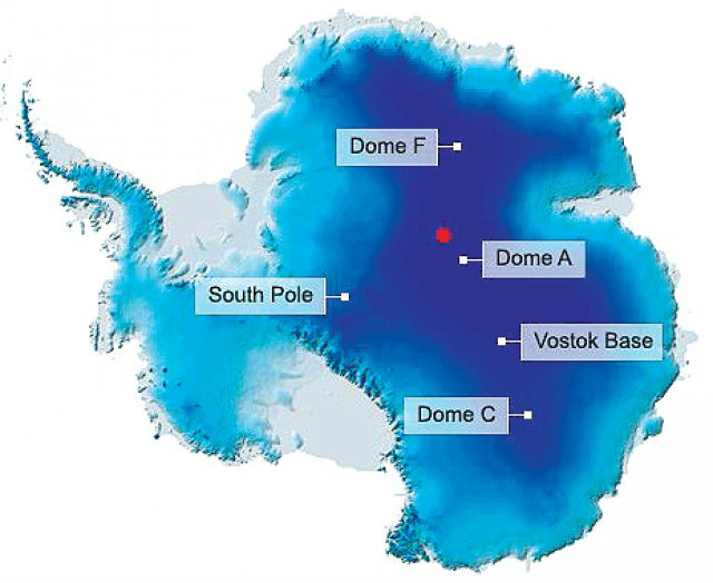 นักวิทย์พบจุดที่เย็นที่สุดในโลก