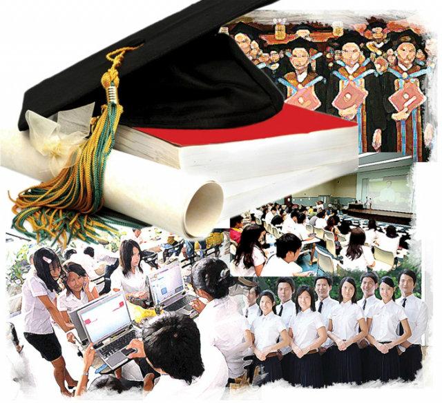 การศึกษาไทย  สิ่งที่เห็นและเป็นอยู่