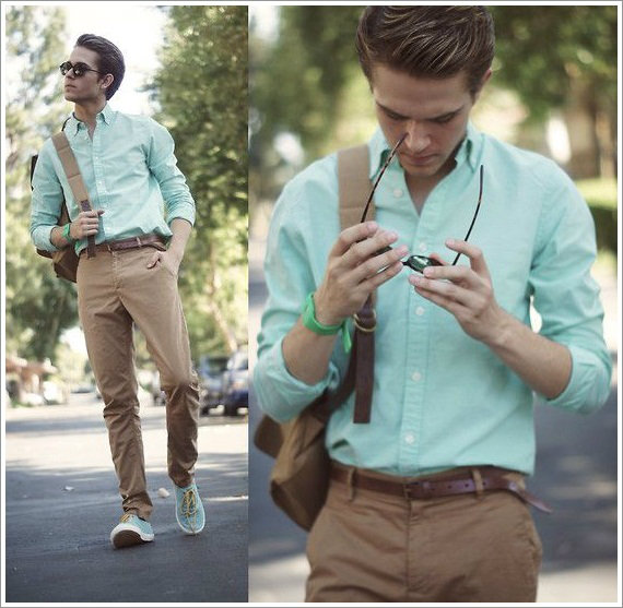Men in mint  สีมิ้นต์ ผู้ชายก็เลือกใส่ได้