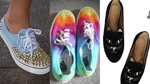 5 ไอเดีย DIY รองเท้าคู่เก่า ให้ใหม่ในพริบตา