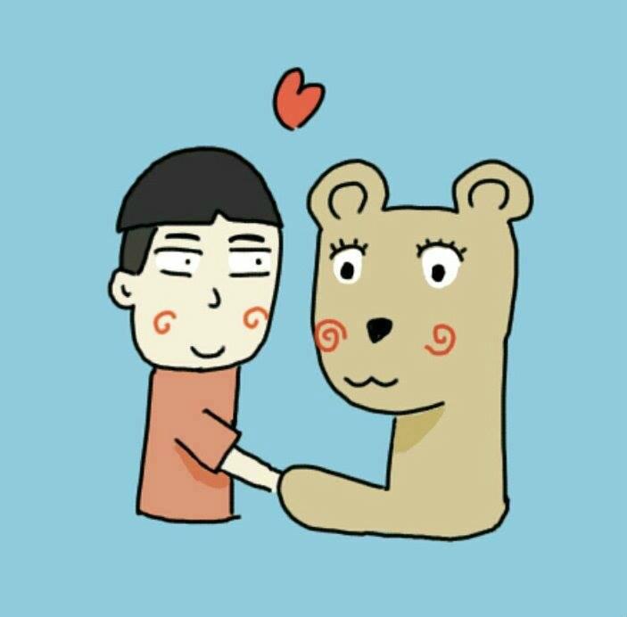 เรื่องของ 'คนอะไรเป็นแฟนหมี'