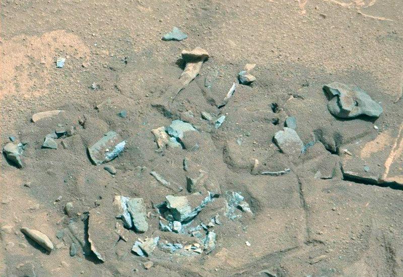 จริงหรือมี ′กระดูกคน′ บนดาวอังคาร?