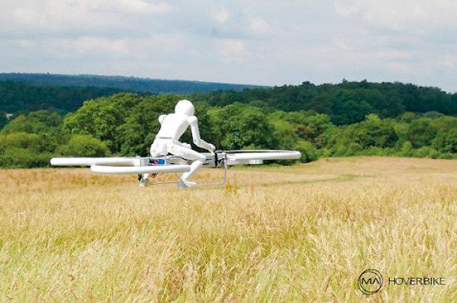 ′โฮเวอร์ไบค์′ อากาศยานส่วนตัวในอนาคต?