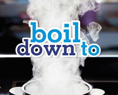 ฝรั่งพูดคนไทยงง : Boil down to
