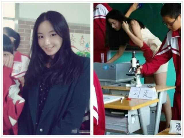 กรี๊ดกระหึ่มโซเชียลจีน! ครูสอนชีววิทยาน่ารักระดับไม่กล้าหลับในห้องเรียน