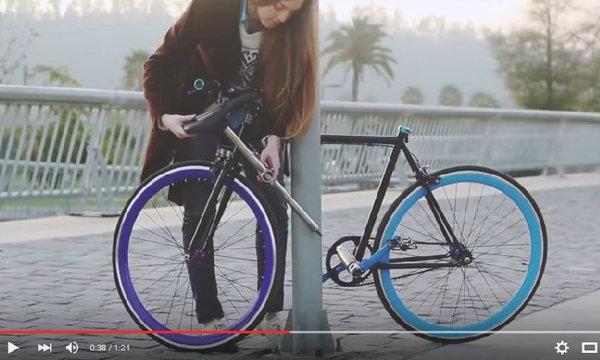 สุดสร้างสรรค์ ทีมนักศึกษาชิลีร่วมสร้างจักรยานคันแรกของโลกที่ไม่สามารถขโมยได้