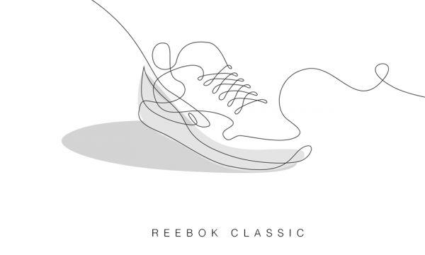 เจ๋งเว่อร์! วาดรองเท้าสนีกเกอร์ในลายเส้นเดียว