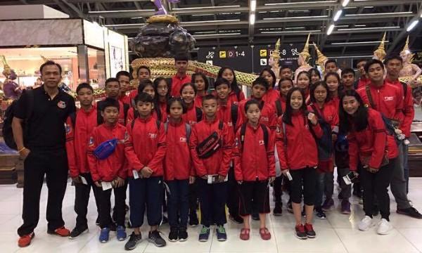 ส่งแรงเชียร์! นักเทควันโด้รุ่นจิ๋วร่วมแข่งแมทอินเตอร์ 25 ประเทศที่มาเลเซีย