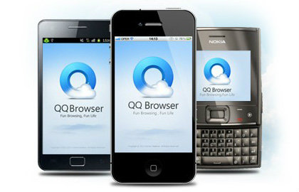 Sanook.com improves mobile browser launches QQ Browser to penetrate smartphone users.