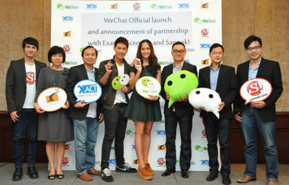 WeChat announces the Exact-Scenario Official Account, the first Official Account in Thailand.
