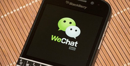 WeChat Gives BlackBerry Users a New Way to Connect WeChat launches on BlackBerry 10 OS