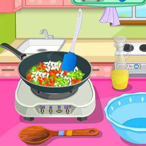 เกมส์แอ๊คชั่น เกมส์ทำไก่ต้มกับซอสผัก