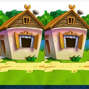 เกมส์จับผิด เกมส์จับผิดหมู่บ้านสีเขียว