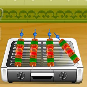เà¸à¸¡à¸ªà¹Œà¸—ำอาหารเกมส์ทำเคบับไก่สไตล์อาหรับ