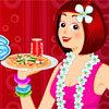 เกมส์ทำเค้ก Beach Waitress