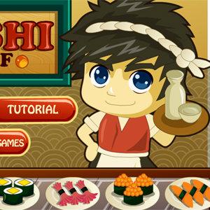 เกมส์ทำเค้ก Sushi Chef