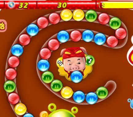 เกมส์ยิงลูกบอล Zuma Pig Man