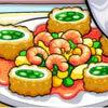 เกมส์ทำเค้ก lisas famous fish rolls