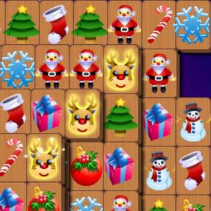 เกมส์จับคู่ christmas mahjong 2011