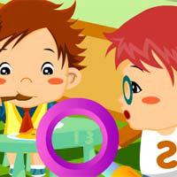 เกมส์หาของ Sweet Baby Numbers