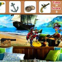 เกมส์ฝึกสมอง pirate-room