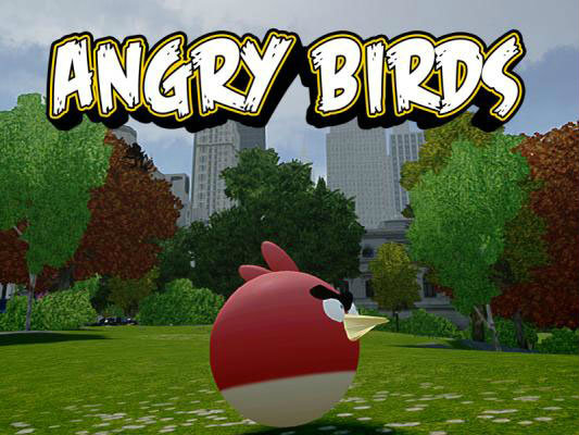 GTA IV Angry Bird Mods เมื่อนกพิโรธกลายเป็นโจร