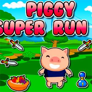 เกมส์ฝึกสมอง piggy super run