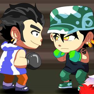 เกมส์ต่อสู้ Contra Twins