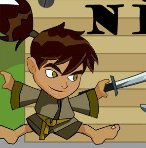 เกมส์ตกปลา เกมเบนเทน Ben10 Ninja