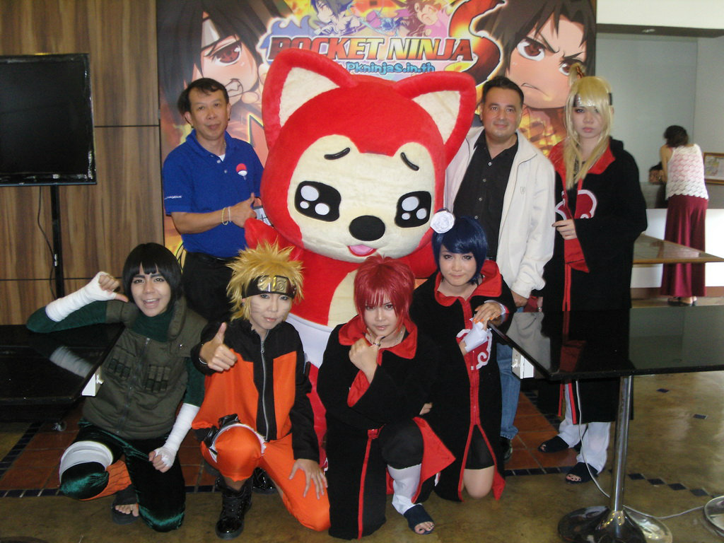 เกมส์ Pocket Ninja Social