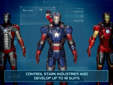 Gameloft ส่งเกม Iron Man 3 ลง iOS, Android แล้ว โหลดฟรี!